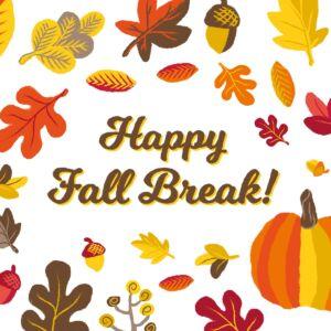 Fall Break (Intersession Optional)